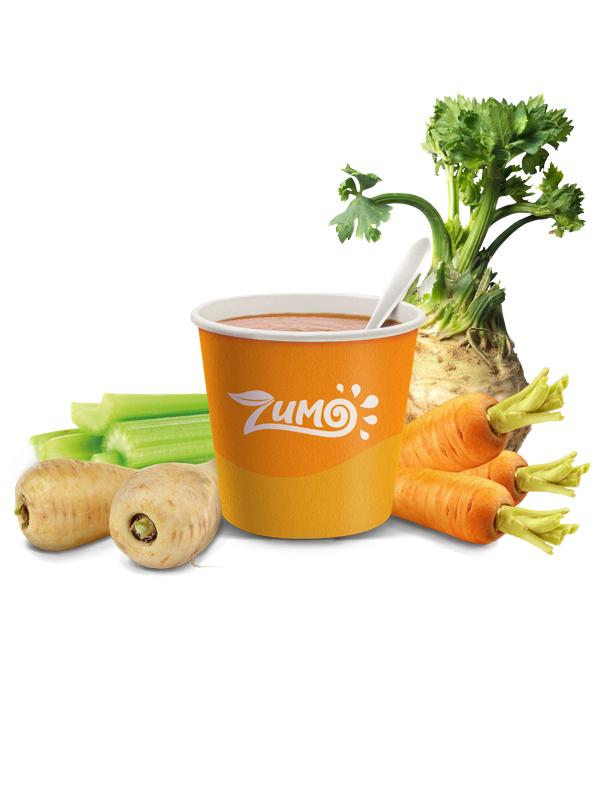 carotte, panais et 2 céleris